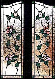 Stained glass windows and Doors - Rose Garden