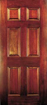 Six Panel Wood Doors - Six panel