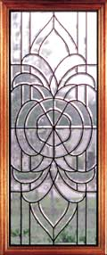 Leaded Glass Inserts - Lincoln