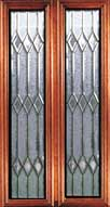 Custom Leaded Glass Inserts - Jakarta