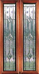 Leaded Glass Inserts - Mariana
