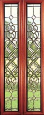 Leaded Glass Inserts - Manchester